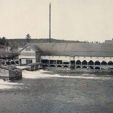 Downsville WI Dam